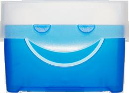 blaue Lernkartei von vorne