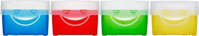 Bild mit 4 Lernkarteien
